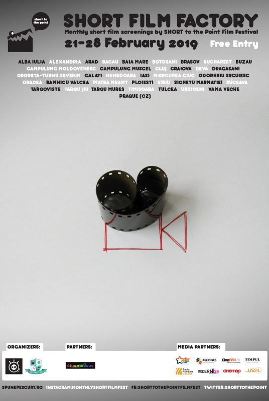 Short Film Factory - Poster - February 2019