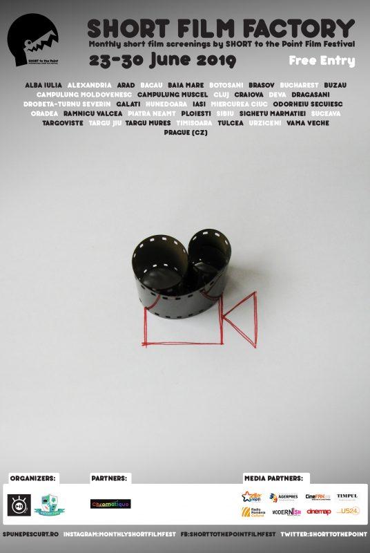 Short Film Factory - Poster - June 2019