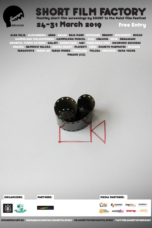 Short Film Factory - Poster - March 2019