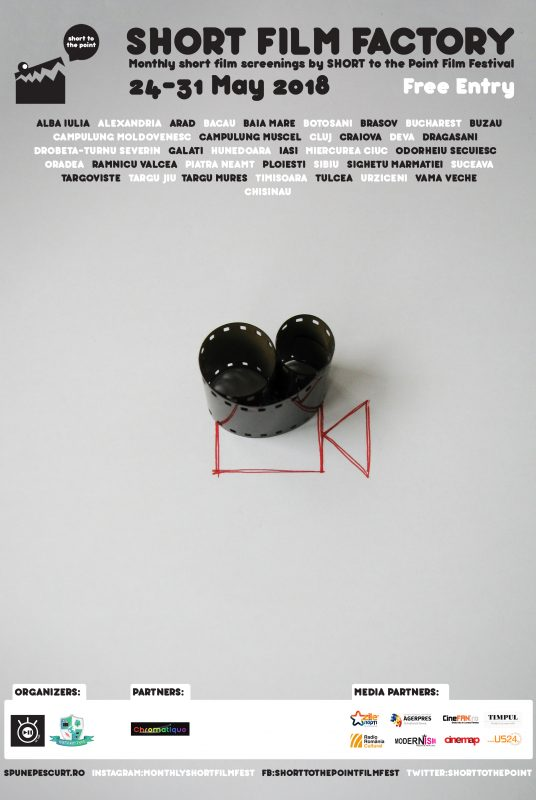Short Film Factory - Poster - May 2018