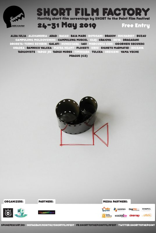 Short Film Factory - Poster - May 2019